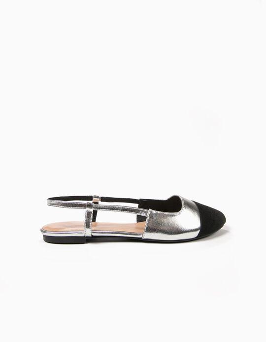 Contrasting Toe Sandals