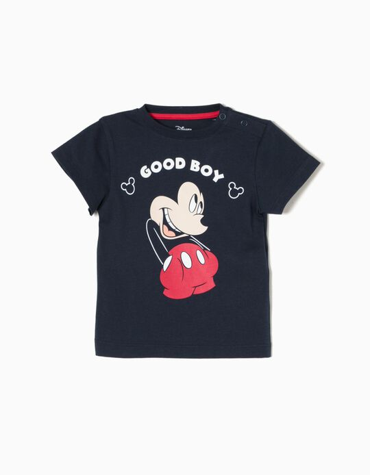 T-shirt Azul Mickey