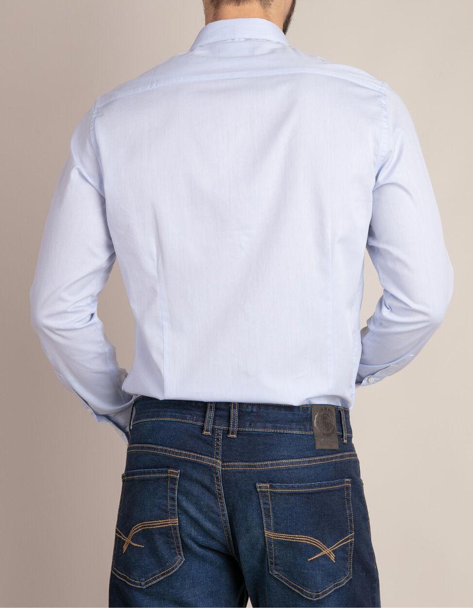 Camisa clássica lisa