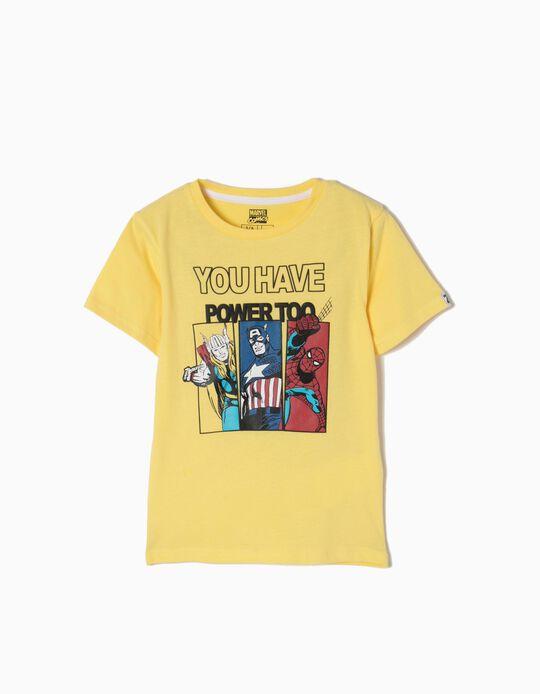 T-shirt Capitão Power