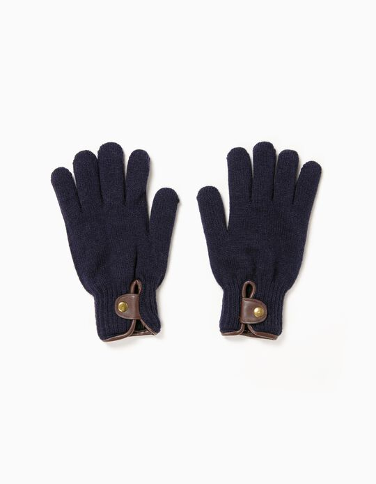 Gloves with bias trim