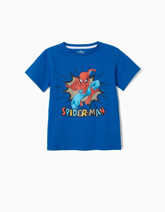 T-shirt for Boys 'Spider-Man', Blue