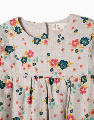 Vestido Fluido Flores