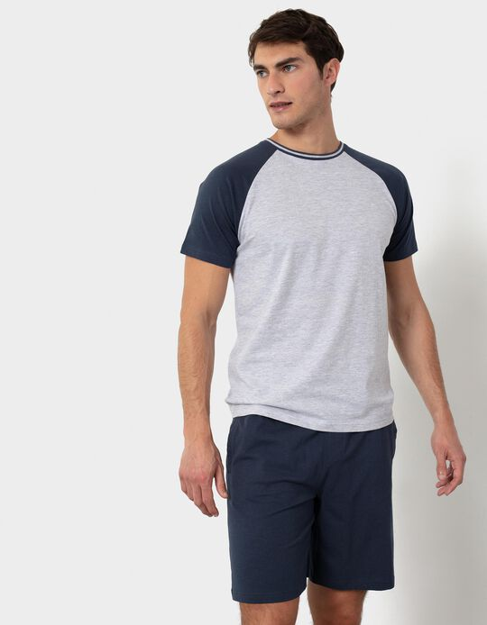 Two-Tone Pyjamas, for Men