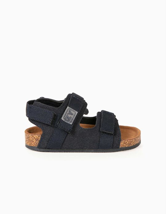 Sandals for Baby Boys, Dark Blue