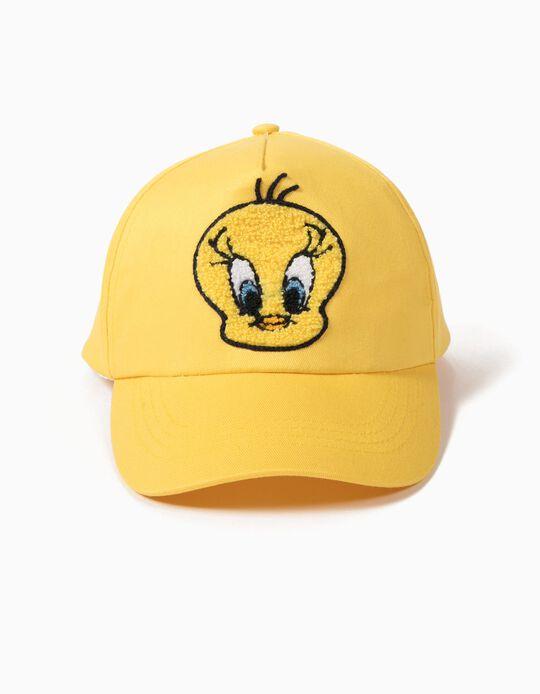 Boné Tweety Amarelo