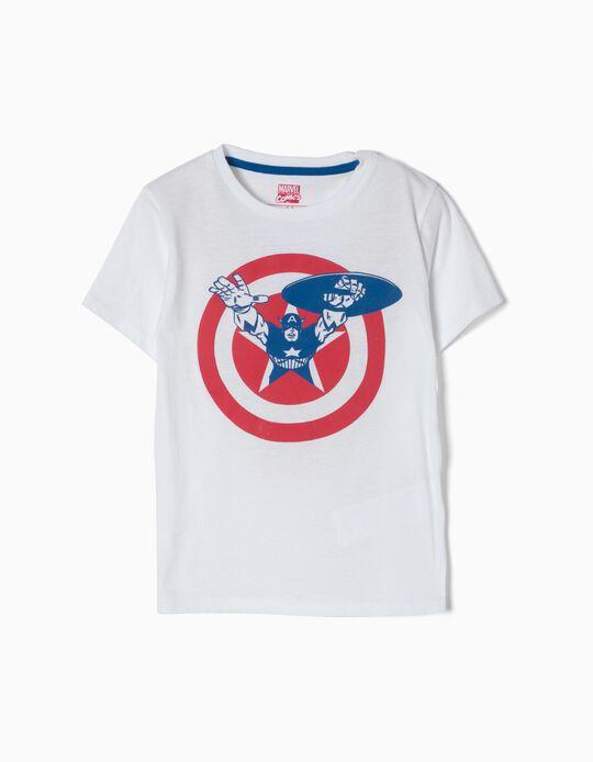 T-shirt Capitão America