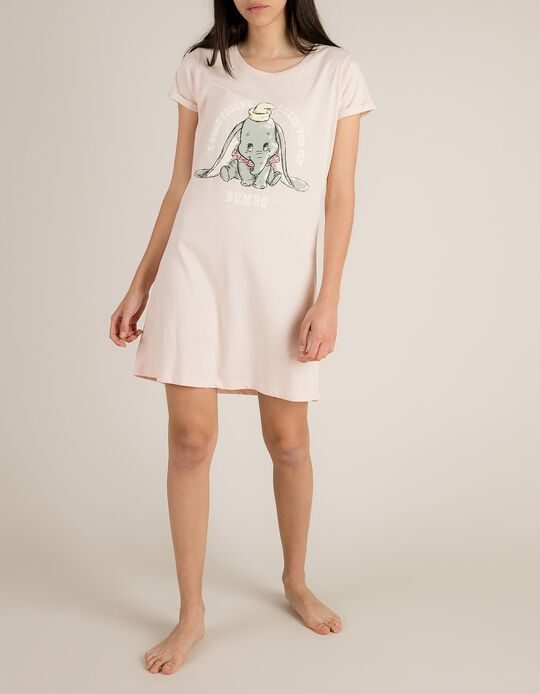Camisa De Dormir Com Estampado Dumbo