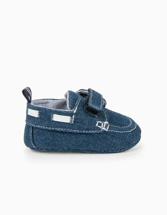 Sapatos de Ganga para Recém-Nascido, Azul