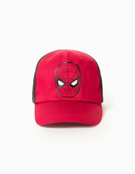 Cap for Boys 'Spider-Man', Red/Black