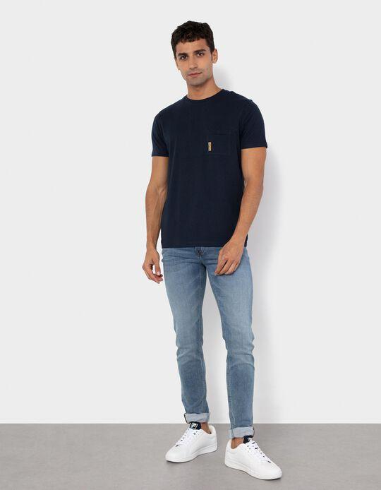 Cotton T-shirt for Men, Black