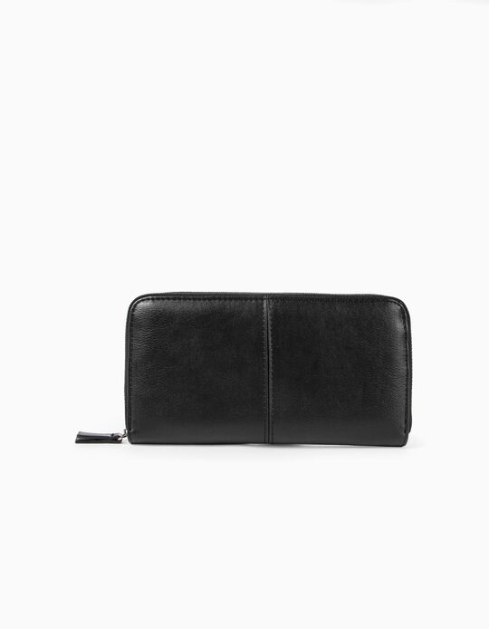 Leather-Effect Purse