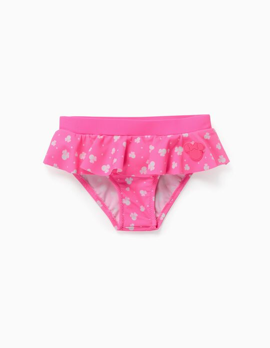 Bikini Bottom for Baby Girls, 'Minnie Mouse', Pink
