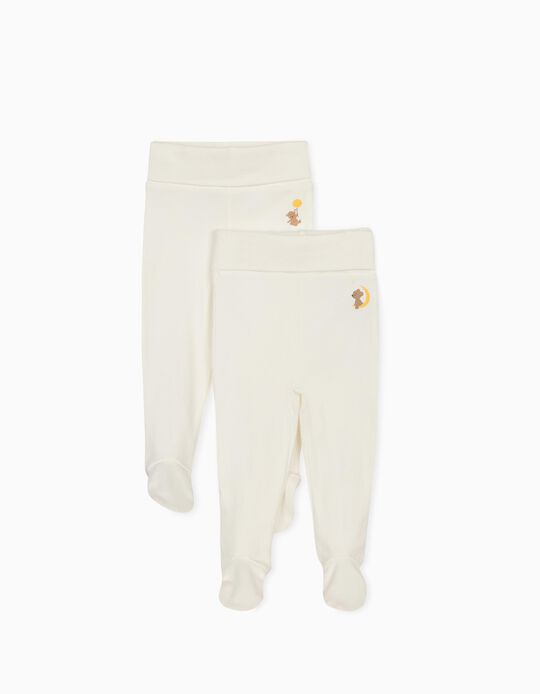 2 Pairs Trousers for Newborn Baby Boys