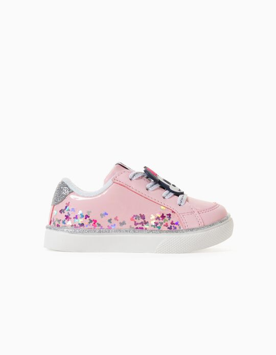 Trainers for Baby Girls, 'Minnie', Light Pink