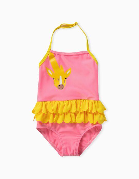 Fato de Banho Bebé Menina, 'Girafa'
