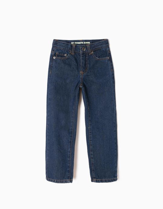 Jeans for Boys, Regular Fit, Dark Blue