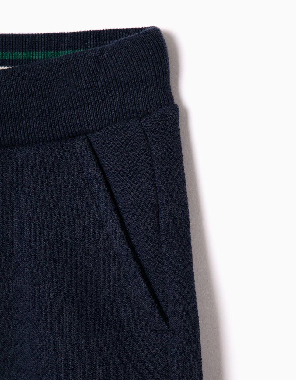 Calças de Treino Piquet Azuis