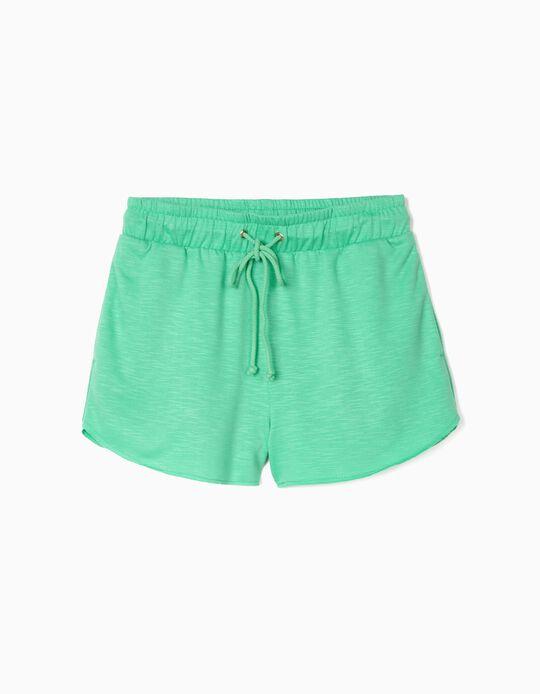 Shorts with Elasticated Waist, Women