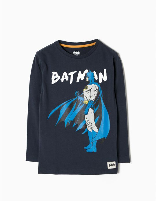 T-shirt Manga Comprida Batman
