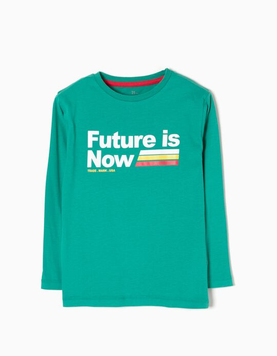 T-shirt Manga Comprida Future