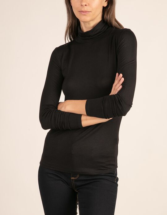 Basic high neck top, Essentials collection