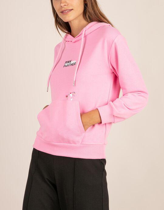 Sweatshirt Pantera cor-de-rosa