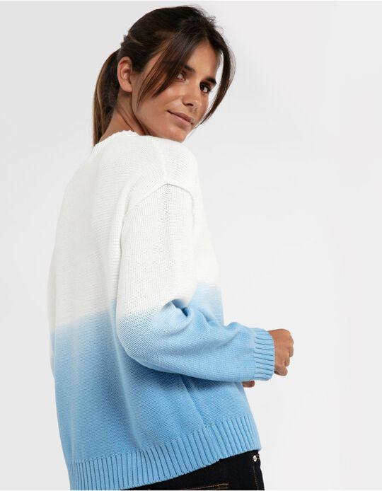 Camisola de malha dyed