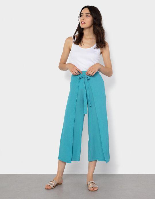 Skirt Trousers for Women, Orange