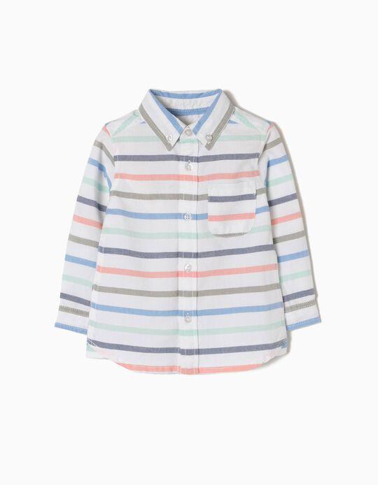 Camisa Riscas Coloridas