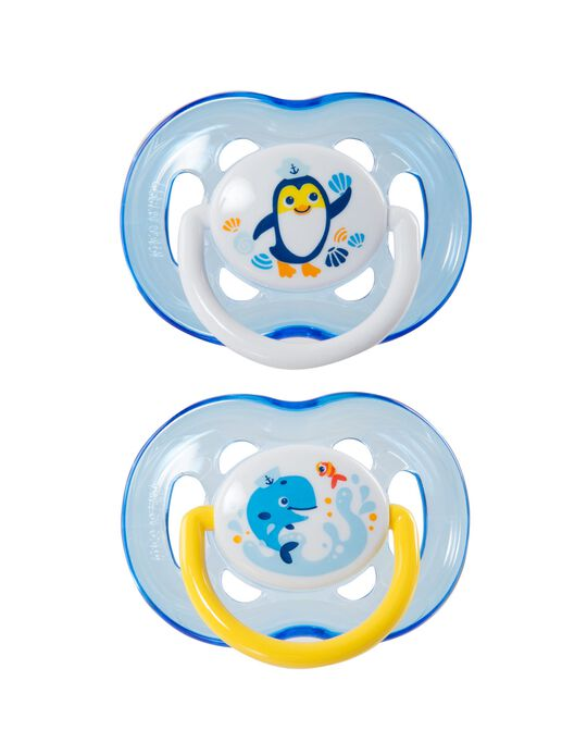 Chupeta Freeflow Silicone Philips Avent 2 Un.