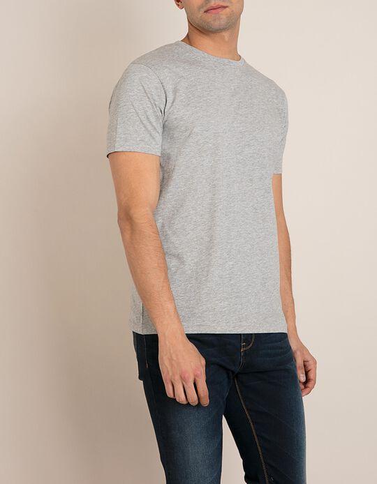 T-Shirt Cinzenta