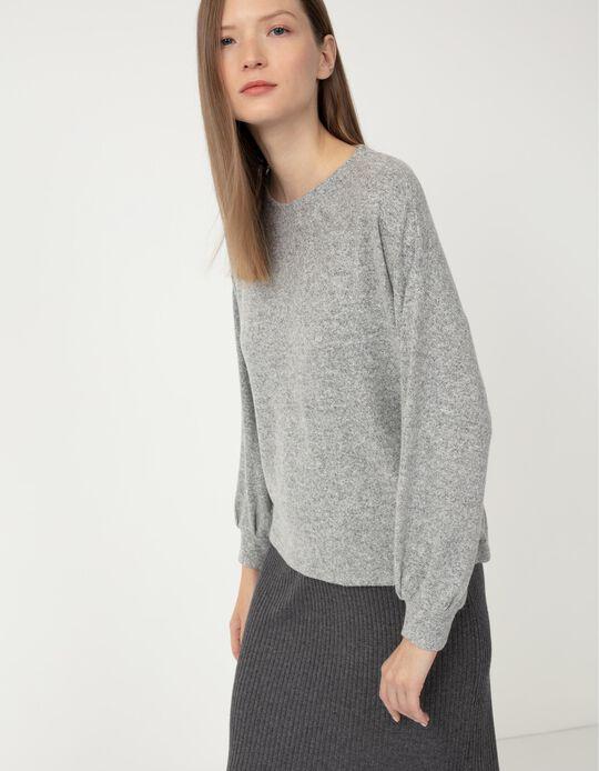 Soft Jumper, Women, Marl Grey