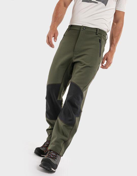 Water-repellent trekking trousers