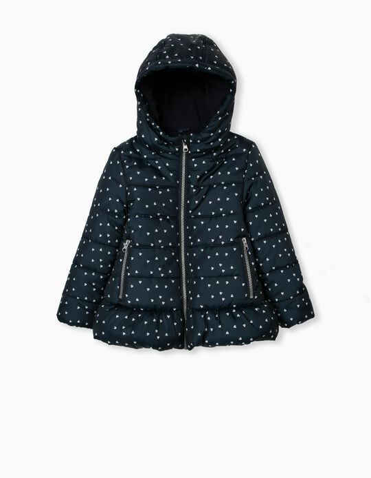 Jacket in Recycled Polyester, Girls