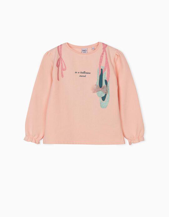 Sweatshirt 'Bailarina', para Menina