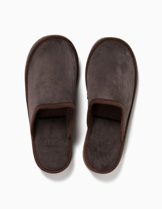 Bedroom Slippers, Brown