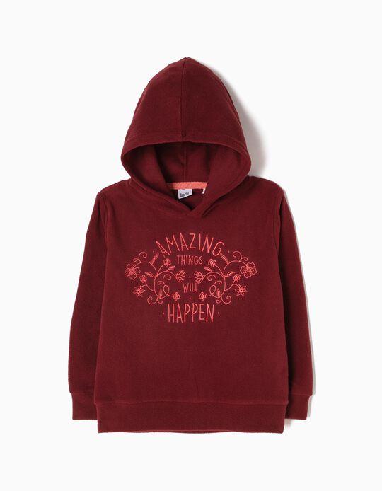 Sweatshirt Com Capuz Amazing Things Will Happen