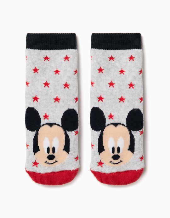 Non-Skid Mickey Mouse Socks