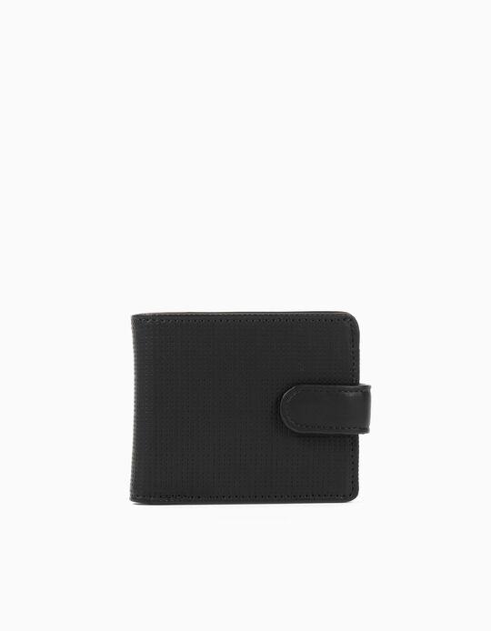 Wallet for Men, Black