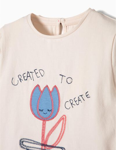 T-shirt Manga Comprida Create