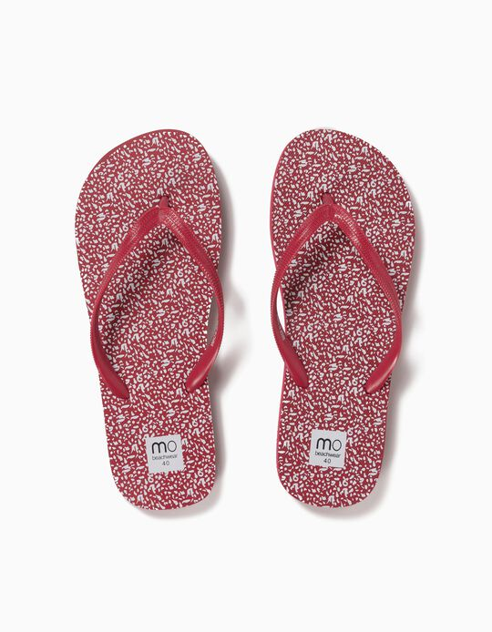 Beach Sandals, Patterned