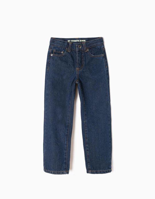 Jeans for Boys, Regular Fit, Dark Blue