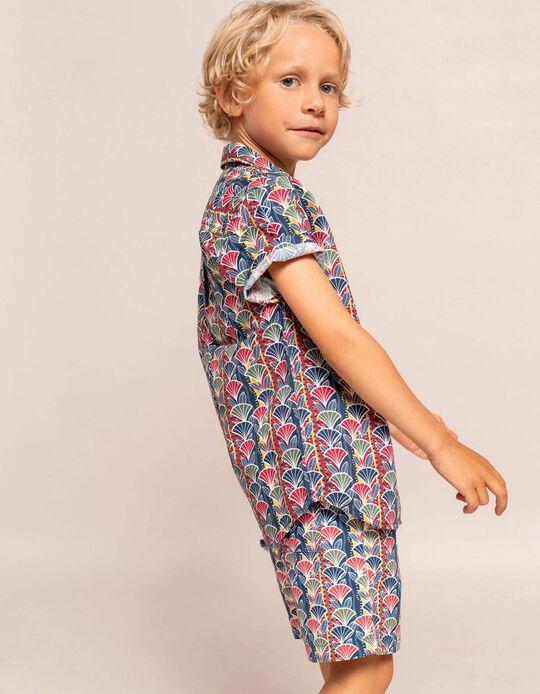 Printed Shirt for Boys, Multicoloured