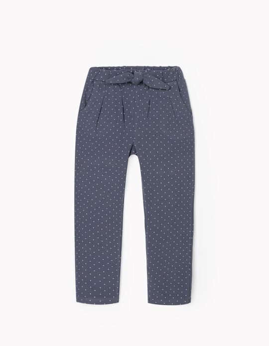 Joggers for Girls 'Dots', Blue