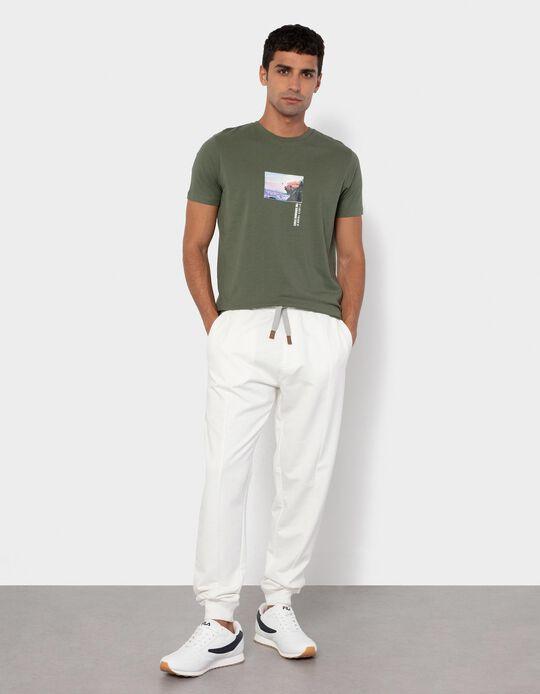Joggers for Men, White