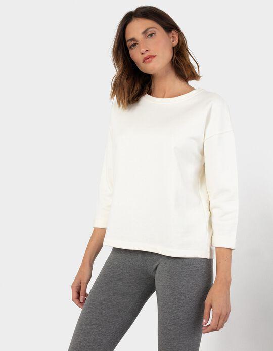Soft Sweatshirt, White