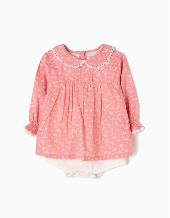 Pink Blouse-Bodysuit