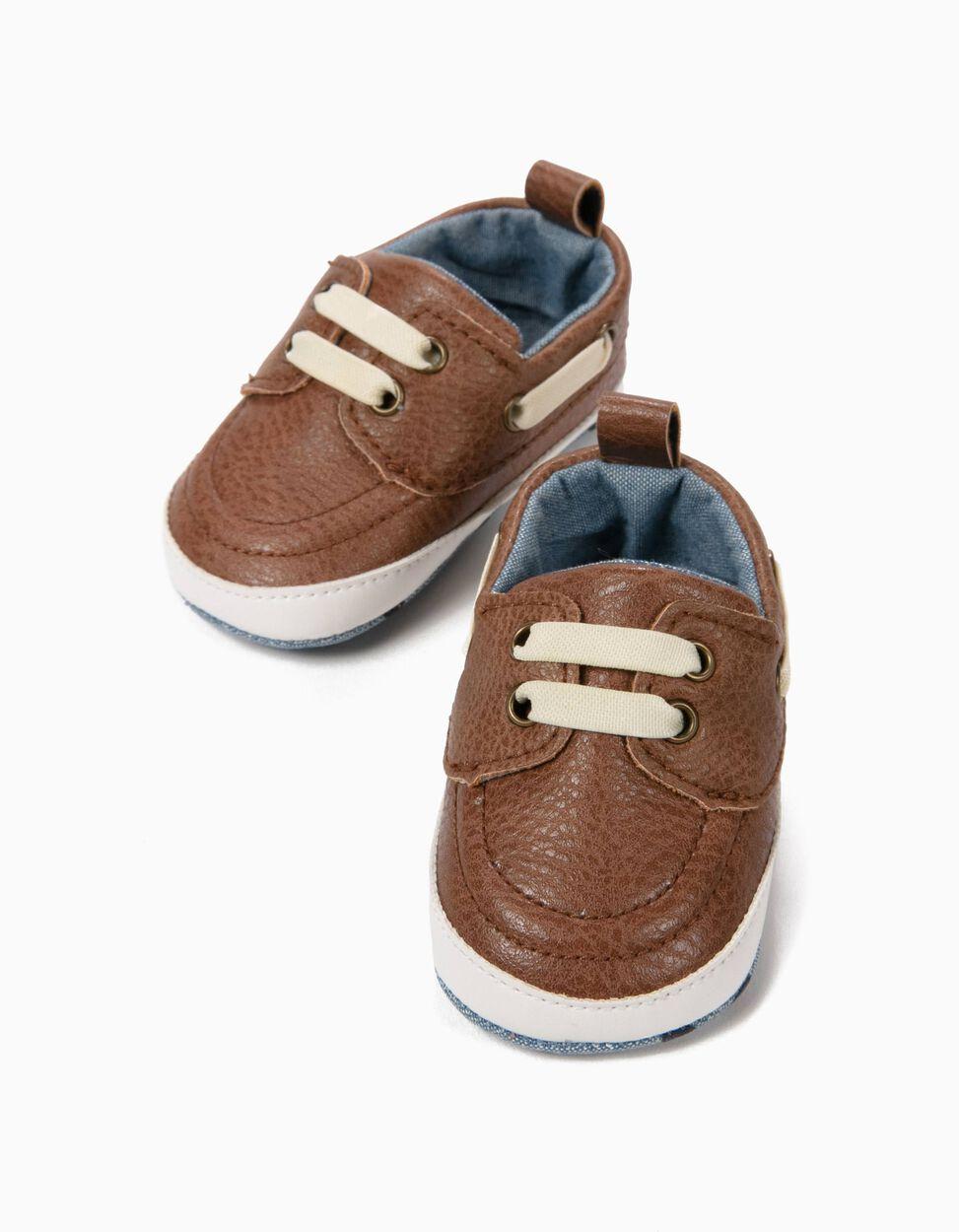 Sapatos Pre-Walker Cambraia Azul Claro