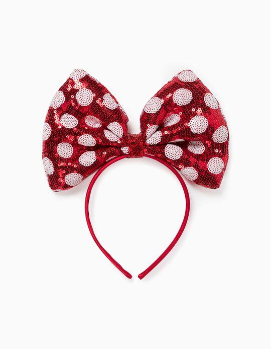 Bandolete para Menina 'Minnie', Vermelho